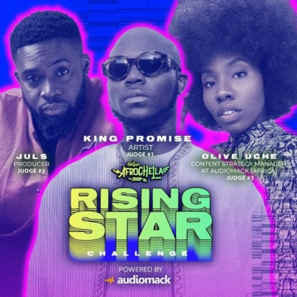 Audiomack and Afrochella Launch Rising Star Music Challenge with 1,000 Dollars Prize