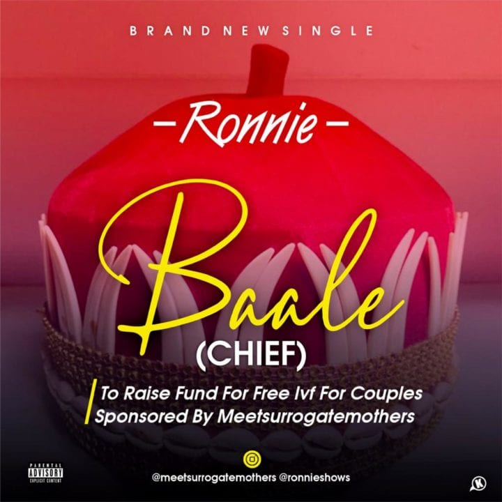 Ronnie Is Full Of So Much Praise On 'Baale'