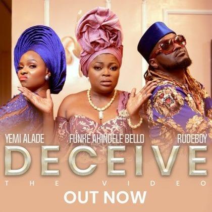 Yemi Alade & Rudeboy deliver the video for 'Deceive'