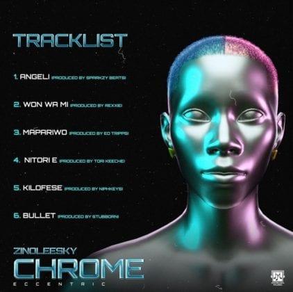 Zinoleesky Chrome tracklist