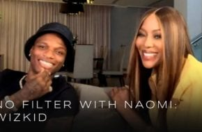 """""""If I wasn't a musician I'll be on the street …"""" - Wizkid to Naomi Campbell"""