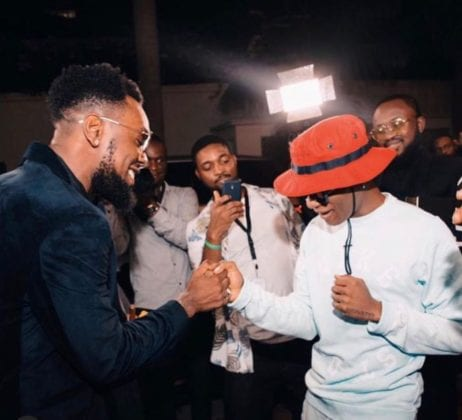 Wizkid and Patoranking Chilling Together in Ghana