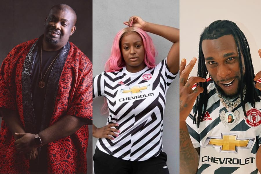 10 Popular Nigerian Musicians Who Are Manchester United Fans