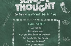 Real Warri Pikin, Teni - School of Thought