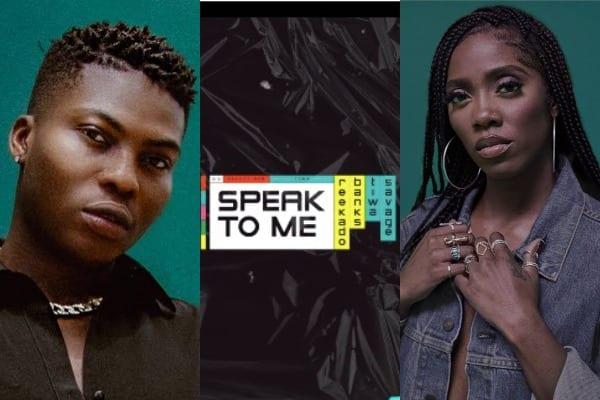 Reekado Banks, Tiwa Savage - Speak To Me