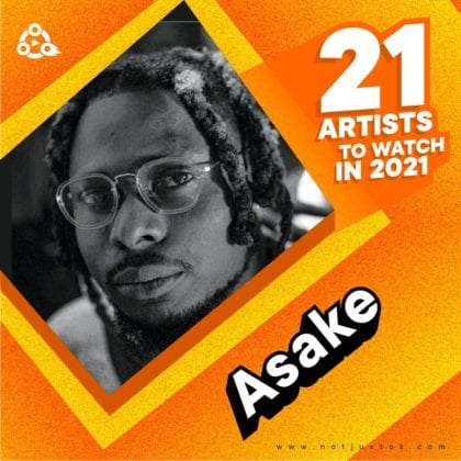 Asake artiste to watch in 2021