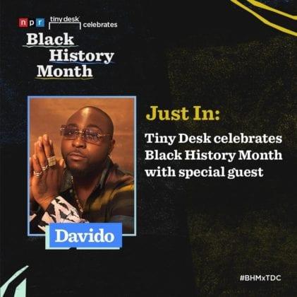 Davido NPR Tiny Desk