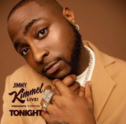 Davido's performance on Jimmy Kimmel Live