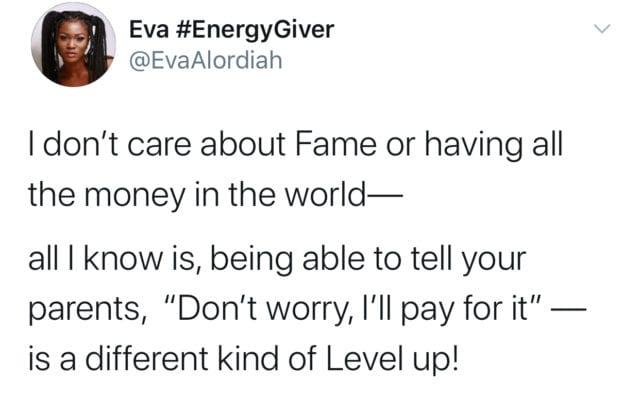 Eva Alordiah fighting depression