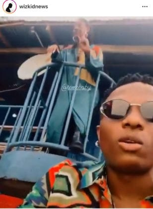 Wizkid and Tems Essence