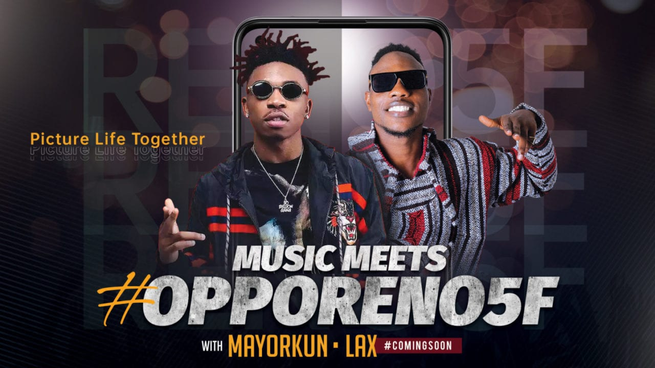 Mayorkun & L.A.X Set to Drop New OPPO Collaboration Project 'Dance'