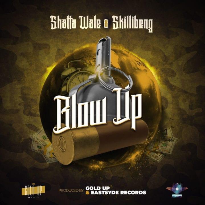 Shatta Wale, Skillibeng, Gold Up - Blow Up