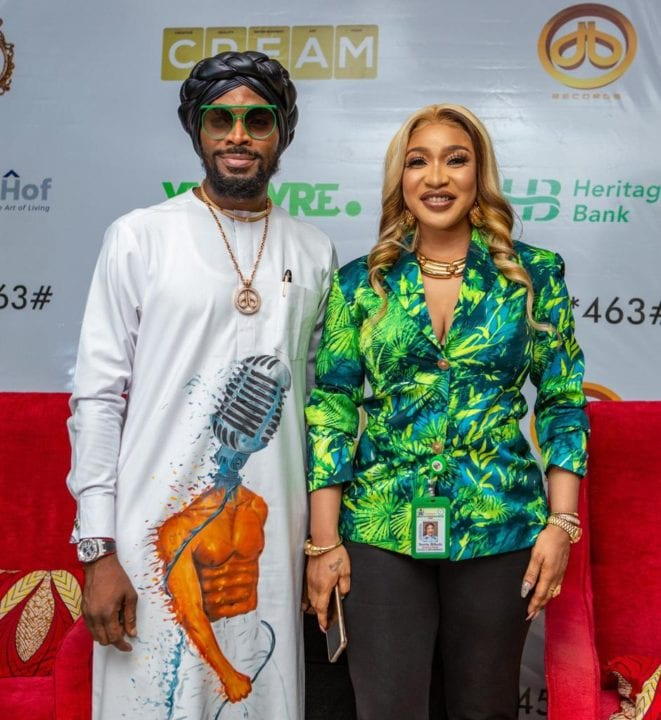 Winners Emerge From D'banj's CREAM Platform and Heritage Bank's YNSPYRE March 2021 Draw