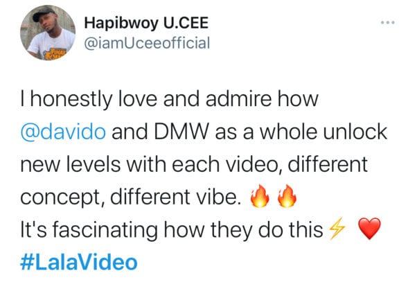 Davido, Ckay - Lala Video