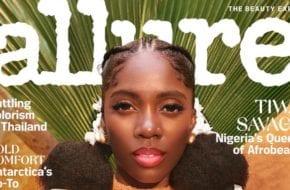 Tiwa Savage Covers Allure Magazine