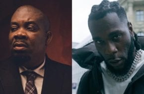 Burna boy and Don jazzy working on a new song
