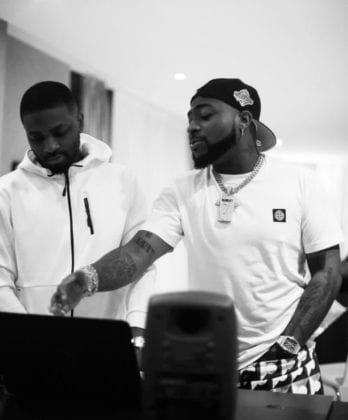 Davido and Shizzi. Davido ft Shizzi