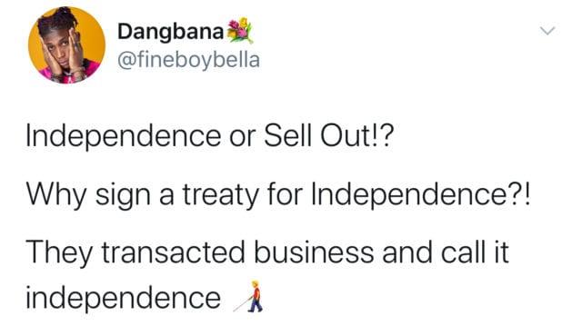 Bella Shmurda Twitter