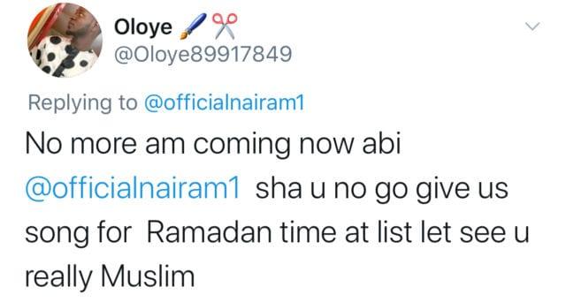 Naira Marley During Ramadan