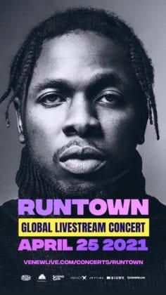 Runtown Global Livestream Concert