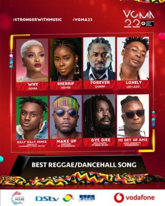 List of VGMA Nominees