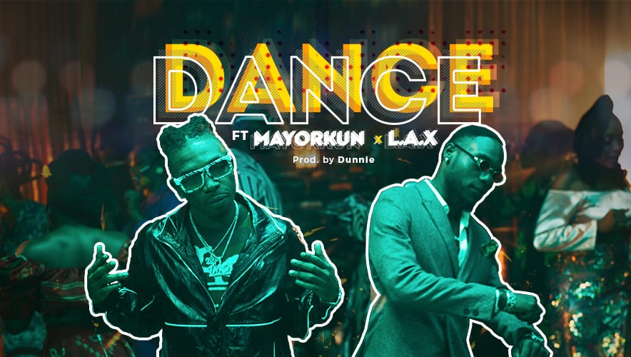 SPANKING HOT - Mayorkun & L.A.X Release Amapiano Hit 'Dance' in Viral OPPO Reno5F Promo