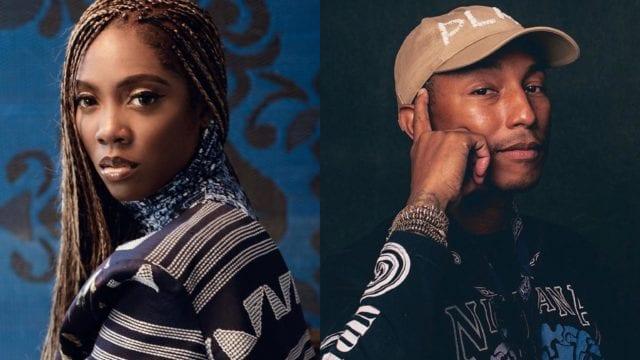 "Pharrell Williams and Tiwa Savage ""Water and Garri"" EP"