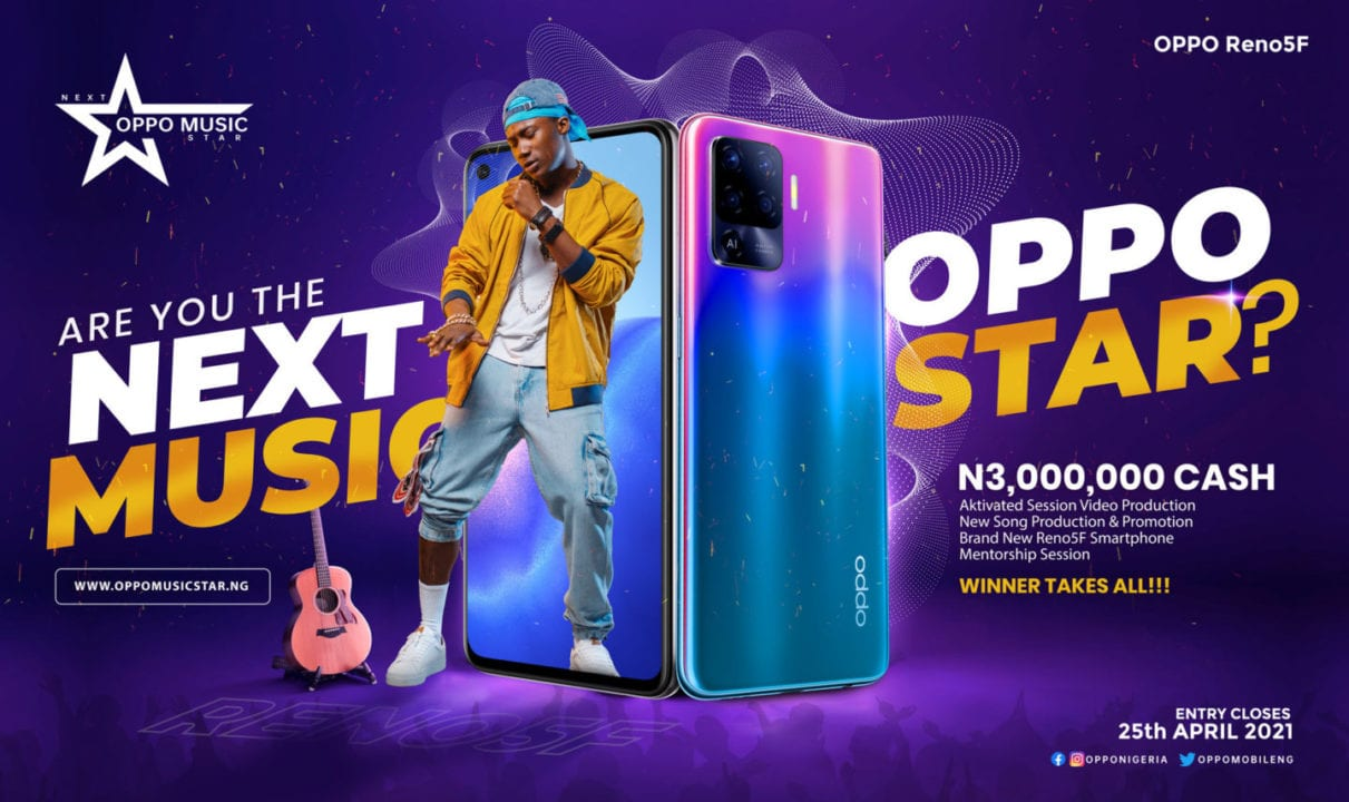 How to Apply for OPPO Music Star Contest 2021