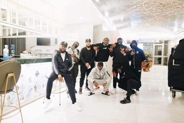 Davido In South Africa as Gang Hits the Road for the First Time in a Year