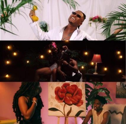 Kelvyn Boy VISA Remix video featuring Joey B & Kwesi Arthur