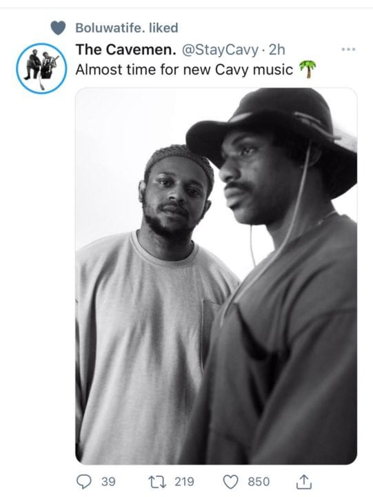 The Cavemen are Coming With New Music! | NotjustOK