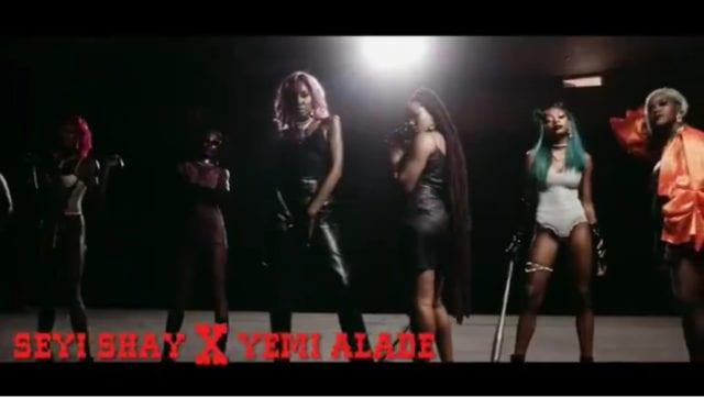 Seyi shay pempe featuring Yemi Alade