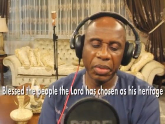 Reactions Trail Hon. Rotimi Amaechi's Debut Single & They're Hilarious!