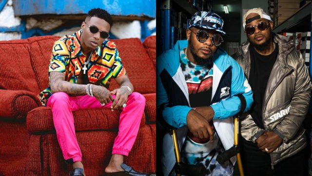 Wizkid Is Cooking up New Music With South Africa's Major League DJz