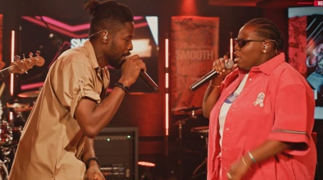"""Teni and Johnny Drille Combine to Remix the Classic """"Denge Pose"""""""