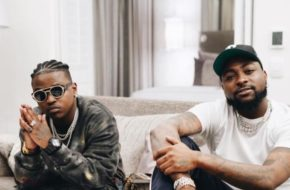 """Davido and Focalistic's Receive Certification Plaque for """"Ke Star"""" 