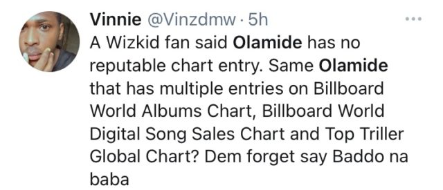 Olamide is the artiste of the decade