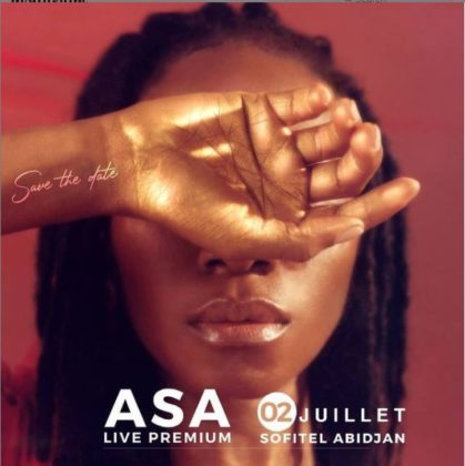 Asa to hold concert in Abidjan