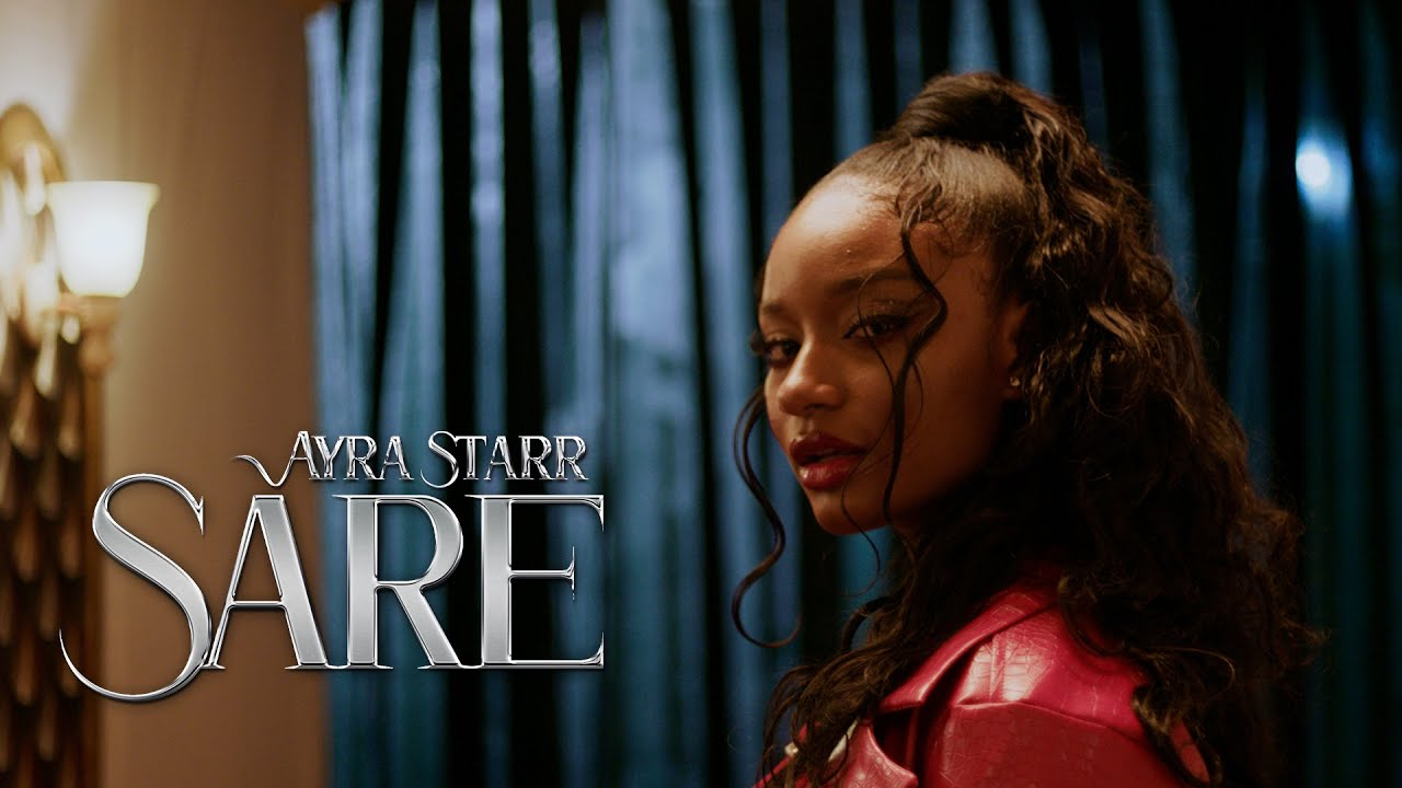 Ayra Starr premieres the visuals for 'Sare'