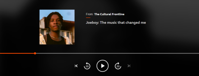 Joeboy Reveals That Burna Boy's Music Helped Him During the Lockdown
