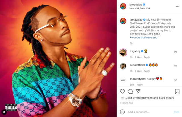 Ayo Jay Announces New EP 'Wonder Shall Never End' to Drop in July