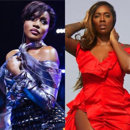 Tiwa Savage and Seyi Shay Exchange Words as They Clash in a Salon