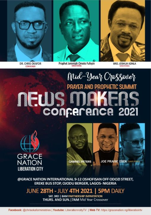 You Are Invited To The News Makers Conference 2021