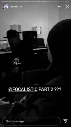 Davido Teases New Collab with Focalistic | NotjustOK