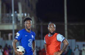 Watch King Promise Take Callum Hudson-Odoi on Hood Soccer in Ghana