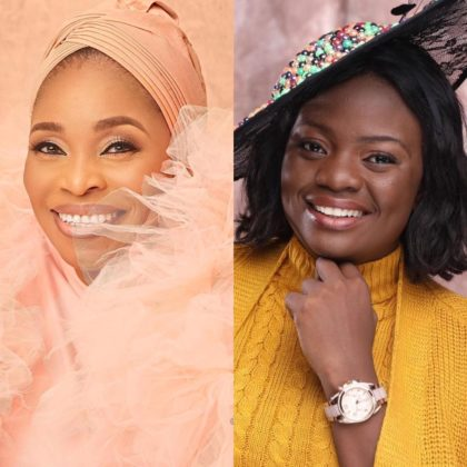 Here's How Yinka Alaseyori Reacted To Tope Alabi's Criticism of Her Song, 'Oniduro Mi' | Watch