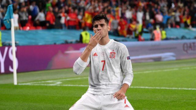 Italy wins Spain Euro 2020