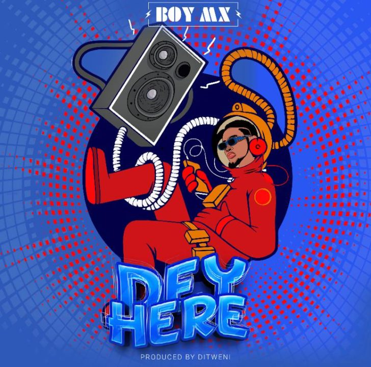 Sensational Nigerian Artist, BoyMX Drops Popping Afrobeats Tune – 'Dey There'