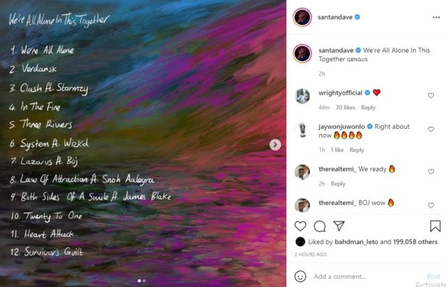 UK Rapper Dave Drops Tracklist for New Album Featuring Wizkid and Boj