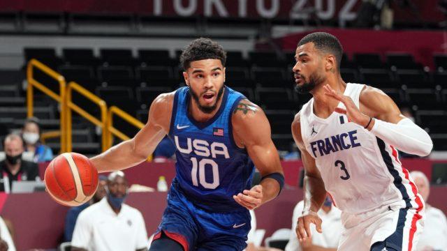 France Ends USA 25 Olympic Games Unbeaten Streak